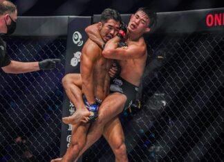 Christian Lee and Ok Rae Yoon, ONE Championship Revolution