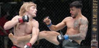 Paddy Pimblett and Luigi Vendramini, UFC Vegas 36