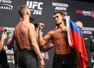 Jonathan Pearce and Omar Morales, UFC 266