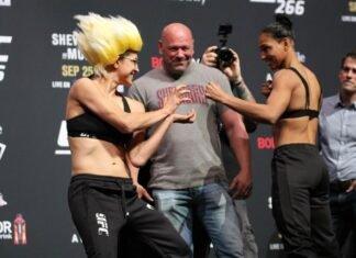 Roxanne Modafferi and Taila Santos, UFC 266