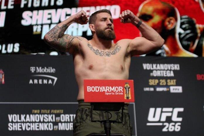 Chris Daukaus UFC