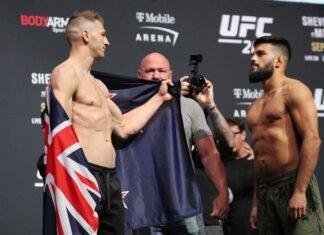 Dan Hooker and Nasrat Haqparast UFC 266