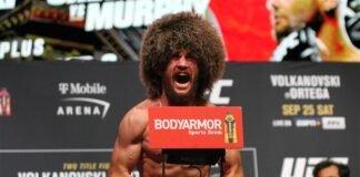 Merab Dvalishvili UFC 266