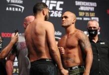 Nick Diaz and Robbie Lawler, UFC 266