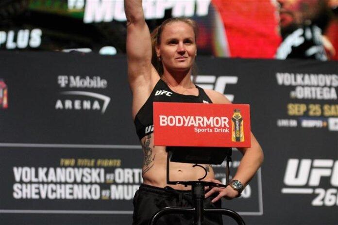 Valentina Shevchenko UFC 266