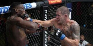 UFC Vegas 36 Marc-Andre Barriault