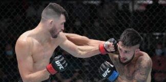 UFC Vegas 36 Julian Erosa