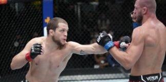 UFC Vegas 36 Alex Morono