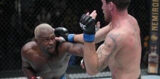 UFC Vegas 36 Derek Brunson