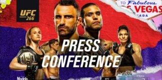 UFC 266 pre-fight press conference
