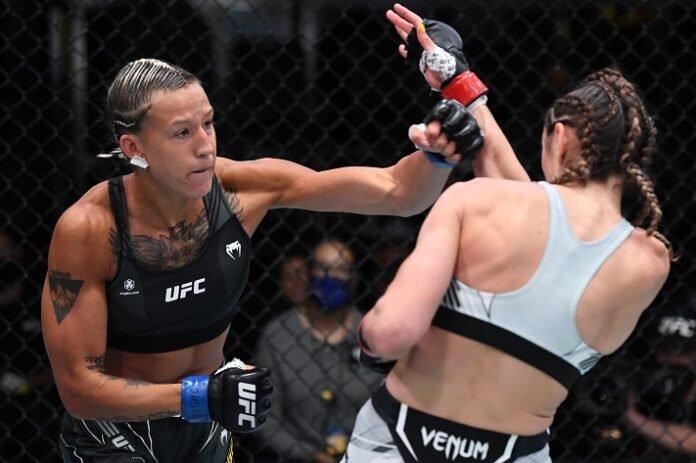 Mariya Agapova and Sabina Mazo, UFC Vegas 39