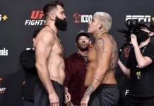 Andrei Arlovski, and Carlos Felipe, UFC Vegas 40