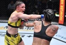 Ariane Carnelossi and Istela Nunes, UFC Vegas 40