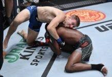 Kyle Daukaus and Kevin Holland, UFC Vegas 38