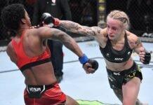 Joselyne Edwards and Jessica-Rose Clark, UFC Vegas 41