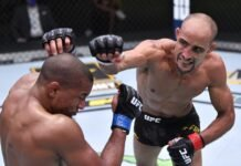 Geraldo de Freitas Jr and Tony Gravely, UFC