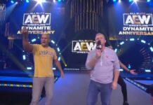 Junior Dos Santos and Dan Lambert, AEW Dynamite