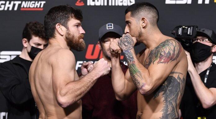 Jim Miller and Erick Gonzalez, UFC Vegas 40