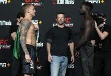 Mason Jones and David Onama, UFC Vegas 41