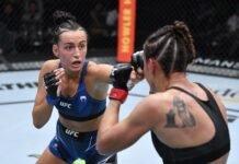 Casey O'Neill and Antonina Shevchenko, UFC Vegas 38