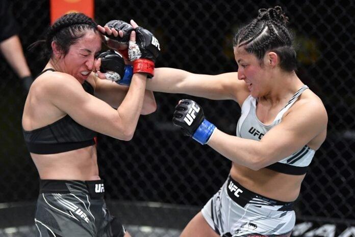 Jessica Penne and Lupita Godinez, UFC