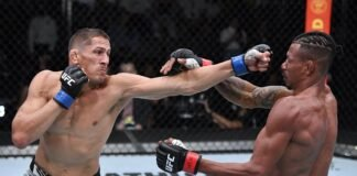 Niko Price and Charles Oliveira, UFC Vegas 38