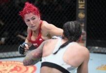 Randa Markos and Livia Renata Souza, UFC Vegas 41