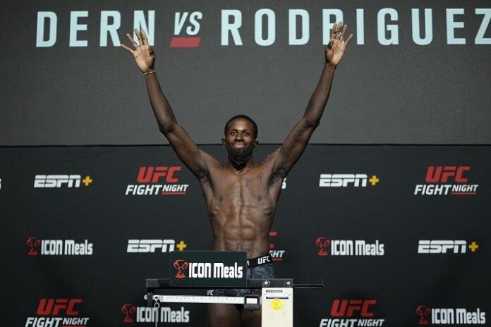 Randy Brown, UFC Vegas 39