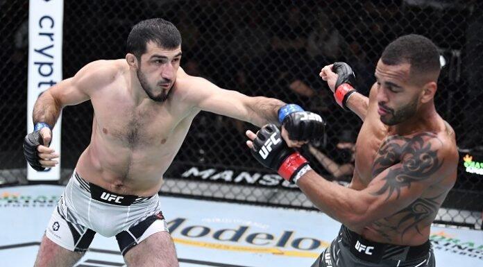Danny Roberts and Ramazan Emeev, UFC Vegas 40
