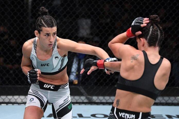 Marina Rodriguez and Mackenzie Dern, UFC Vegas 39