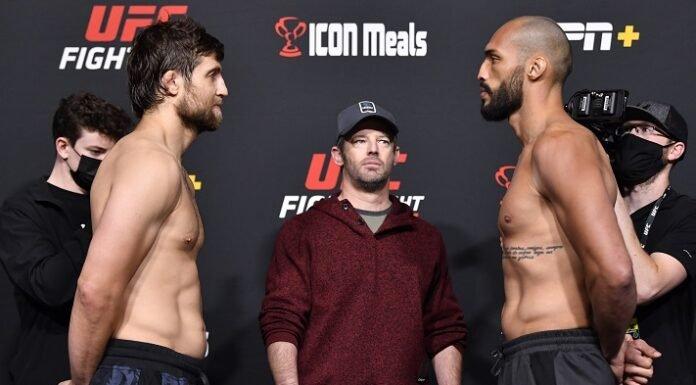 Andrew Sanchez and Bruno Silva, UFC Vegas 40