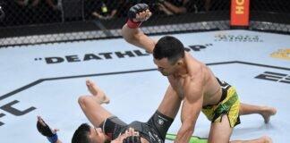 Douglas Silva de Andrade and Gaetano Pirrello, UFC Vegas 38