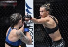 Shanna Young and Stephanie Egger, UFC Vegas 38